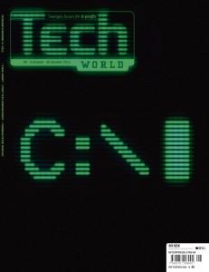 Omslag för tidningen TechWorld 201208
